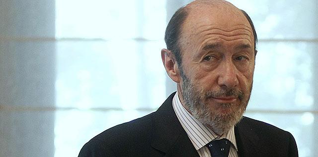 Alfredo Pérez Rubalcaba, el nuevo vicepresidente primero del Ejecutivo de Zapatero.   Reuters