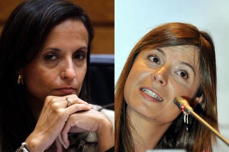 Bbiiana Aído, ministra de Igualdad, y Beatriz Corredor, de Vivienda.