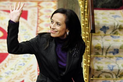 Beatriz Corredor, ya ex ministra de Vivienda. | Bernardo Díaz