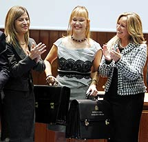 Aído, Pajín y Jiménez. | Reuters