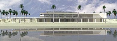 El diseño originario propuesto por la empresa Acuario Nuevo Mundo en su día.