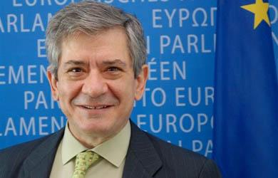 Enrique Barón Crespo.   Parlamento Europeo