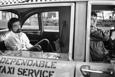 Una de las imágenes del rodaje de 'Taxi Driver'. | Steve Schapiro
