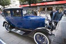 Un Ford Sedan de 1929.   Efe