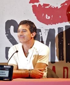 Antonio Banderas en Valladolid. | Efe