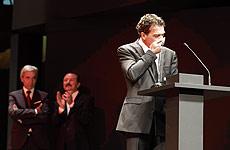 Antonio Banderas en la Seminci. | Efe