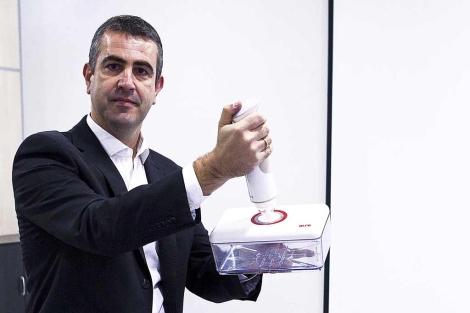 Antton Tomasena, gerente de Alfa Hogar.   Iñaki Andrés