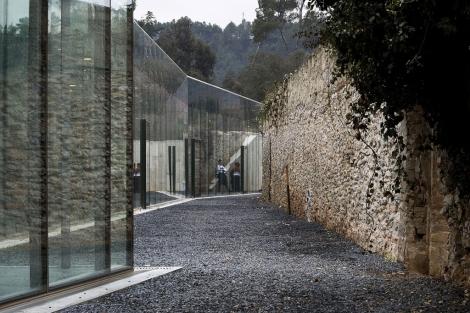 El Centro Internacional de Alimentación y Ciencia en Sant Benet de Bages. | Lluís Clotet