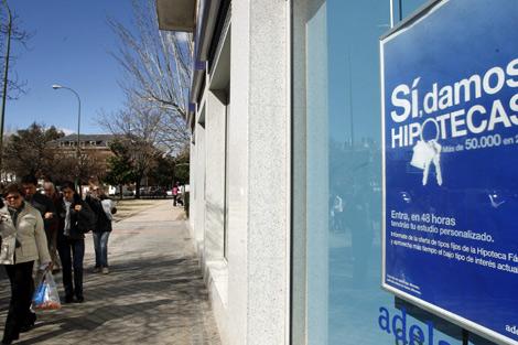 Campaña publicitaria para comercializar hipotecas de un banco. | Sergio González