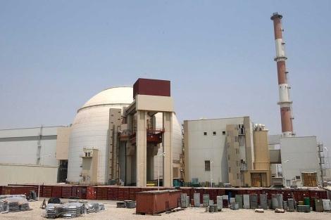 Planta nuclear de Bushehr, al Sur de Irán.| Efe