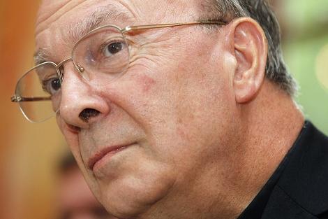 El arzobispo de Bruselas, André-Joseph Leonard, en Bruselas.   Reuters
