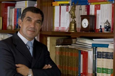 El nuevo presidente del TSJA, Lorenzo del Río.   Cata Zambrano