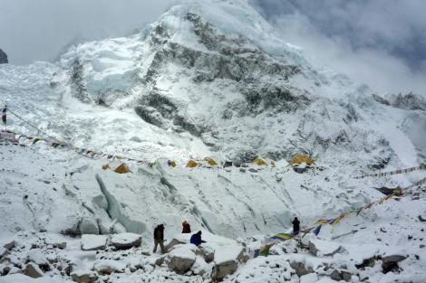 Campamento base del Everest. | Afp
