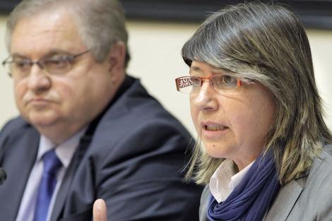 Rosa Quintana comparece en el Parlamento para explicar los presupuestos. | Lavandeira jr.