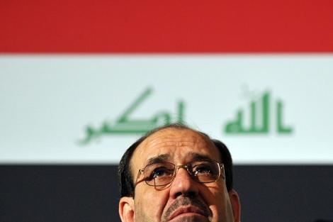 Nuri al-Maliki, en un discurso. | AFP