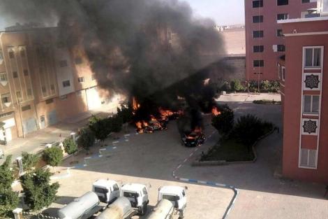 Imagen de una de las calles de Al Aaiún, donde se han producido conflictos. | Efe