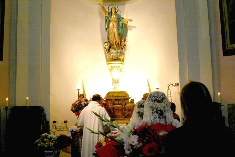 El párroco de Vilafamés lleva 15 años en este pueblo. | ELMUNDO.es
