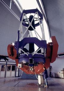 El telescopio MPG/ESO de 2,2 m | ESO, H.H. Heyer