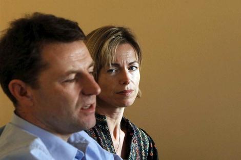 Los padres de Madeleine, Gerry y Kate McCann. | Efe