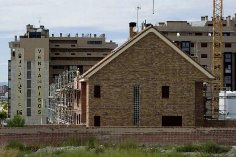 Viviendas de nueva construcción en el PAU de Vallecas (Madrid)   G. Arroyo