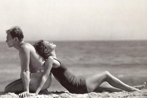 Douglas Fairbanks y su esposa Joan Crawford. | N. Muray. Cnp Archives, 1929