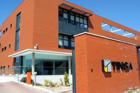 Sede de la sociedad de tasación Tinsa, | Ángel Casaña