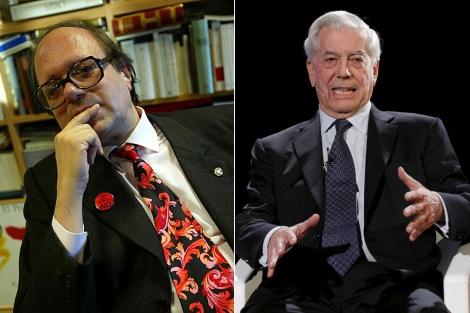 Pere Gimferrer y Mario Vargas Llosa.   S. Cogolludo   Efe