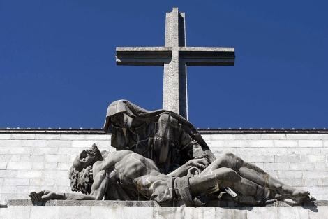 La cruz del Valle de los Caídos. | Diego Sinova