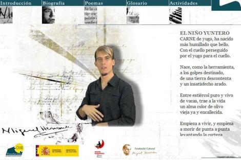 Página web para sordos. | CNSE