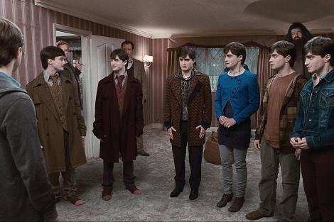 Un fotograma de la nueva película de Harry potter.