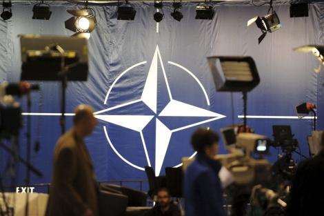 Centro de prensa para cubrir la cumbre de la OTAN en Lisboa. | Efe