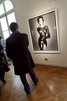 Retrato de Stephanie Seymour. | AFP