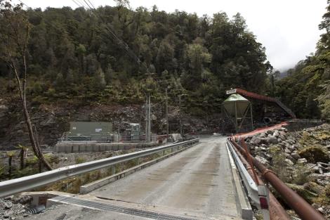 Entrada a la mina de Pike River, en Greymouth. | AP