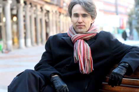 El escritor vallisoletano Rubén Abella.   Ical