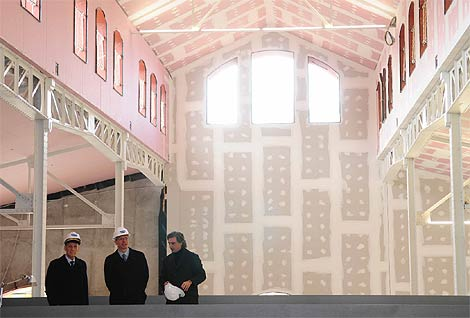Imagen del interior de la Casa del Lector. (munimadrid.es)