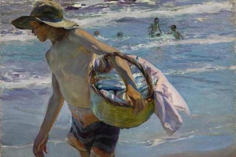 'El pescador' de Joaquín Sorolla.   Sotheby's