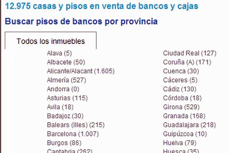 Captura del nuevo buscador lanzado por Suvivienda.es Globaliza. | ELMUNDO.es