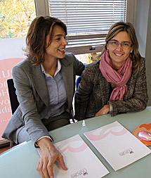 Elena y Ana, las propietarias de Natalis.