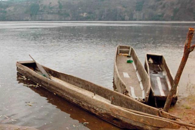 Orilla del río Congo, en Boko, al sureste de Brazzaville. | Ap