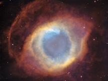 La Hélice, otra nebulosa planetaria vista por su eje | NASA, ESA, HST, O'Dell et al