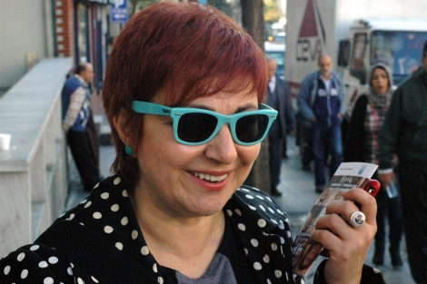 La escritora turca, Buket Uzuner. | Ilya U. Topper