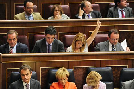 Bancada socialista en el Congreso de los Diputados. | Bernardo Díaz