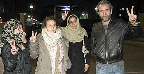 El actor y otros detenidos por el incidente en el Congreso. | Efe