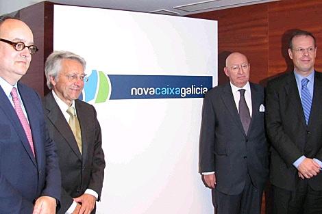 Paredes, Gayoso, Varela y Pego, con el nuevo nombre.   A. G.