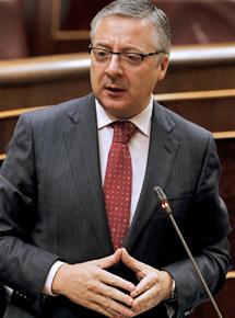 José Blanco, ministro de Fomento.   Efe