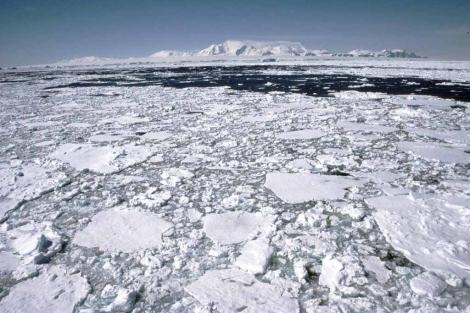 Proceso de deshielo de la Antártida. | Efe