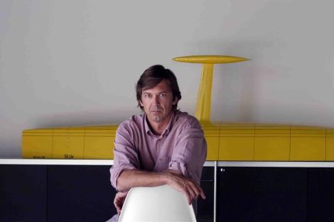 Marcelino Botín, en su estudio de Santander. | Botin&Carkeek