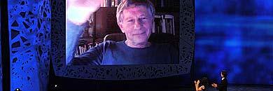 Polanski ha agradecido su premio por videoconferencia. | AFP