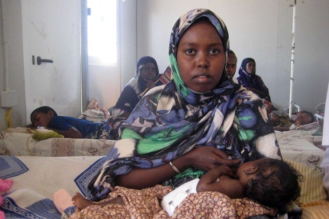 Solo un tercio de los partos en Somalia son atendidos por personal sanitario.