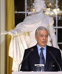 Vargas Llosa. | Afp